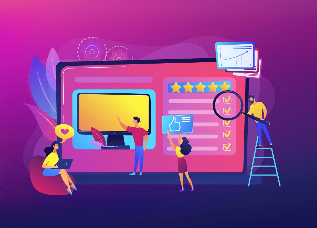 Website Development illustration